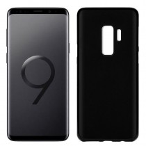 Funda compatible Samsung Galaxy S9+ Gel Mate Negra