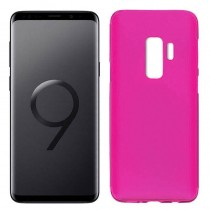 Funda compatible Samsung Galaxy S9+ Gel Mate Rosa
