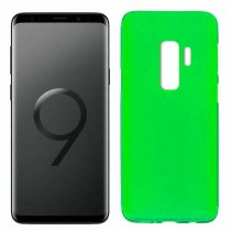 Funda compatible Samsung Galaxy S9+ Gel Mate Verde