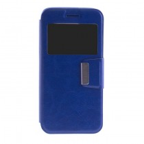 Funda compatible Samsung Galaxy Note 8 Cartera Ventana Azul