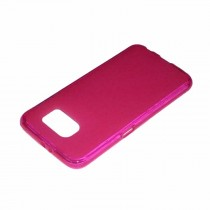 Funda compatible LG X Cam Gel Mate Rosa