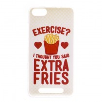 Funda compatible Wiko Lenny 3 Gel Extra Fries