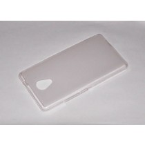 Funda compatible Alcatel Pop 4 Gel Mate Blanca