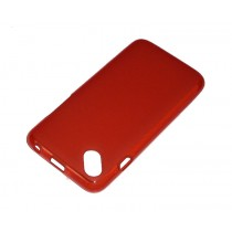 Funda compatible Wiko Sunset 2 Gel Roja