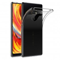 Funda compatible Xiaomi Mi MIX 2 Gel Transparente