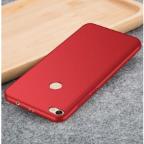 Funda compatible Xiaomi Redmi Note 5A Gel Metalizada Roja