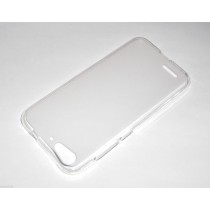 Funda compatible ZTE Blade V6 Gel Mate Blanco