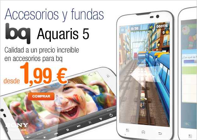 Slider bq Aquaris 5